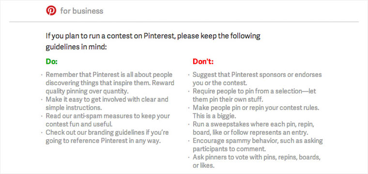 Pinterest contest how-to