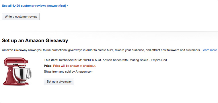 How to win amazon giveaways