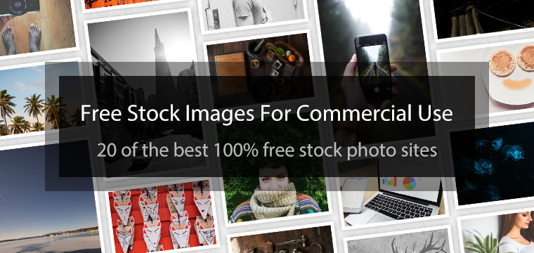 20 Sites To Get Free Stock Images For Commercial Use: viralsweep.com/blog/free-stock-images-for-commercial-use