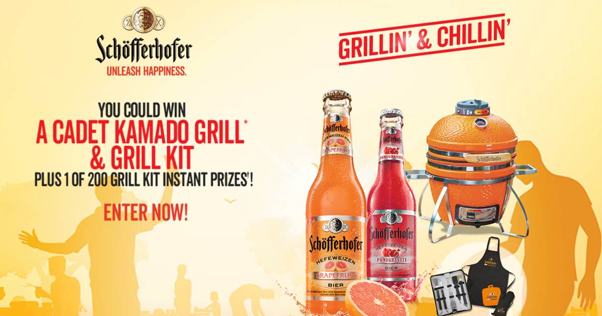 Schofferhofer Grillin' & Chillin' Sweepstakes